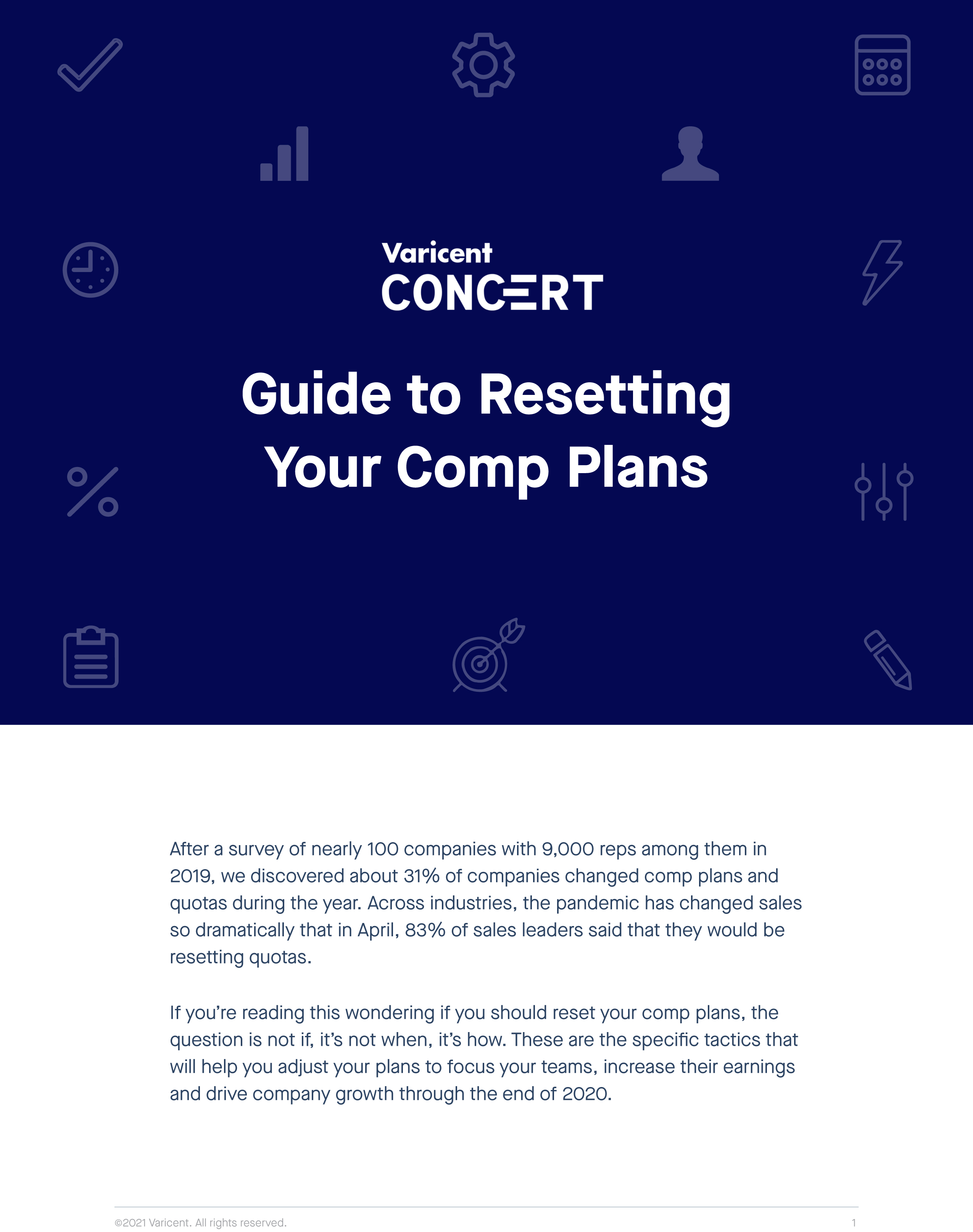 Guide to Resetting Comp Plans