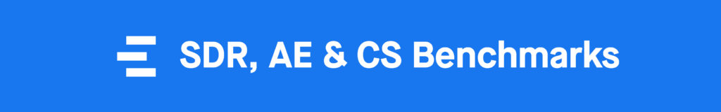Sales Compensation: SDR, AE & CS Benchmarks