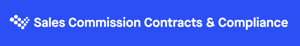 Sales Commission Contracts and Compliance